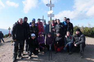 24. …pamiątkowej fotki grupowej ze szczytu Grzesia.