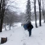 11. Śniegu była już solidna pokrywa…
