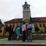 1. Spod budynku Muzeum Górnictwa na rynku w Gelnicy...