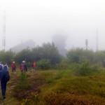 31. Po pamiątkowej fotce ruszyliśmy w kierunku stacji meteo-radarowej...