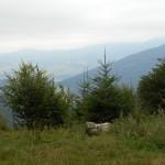 9. ...z widokiem na Prakovce w dolinie Hnilca i pasmo Rudaw Słowackich.