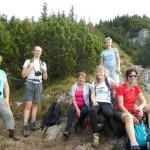 6. Z półki widokowej nad Suchą Doliną patrzyliśmy...
