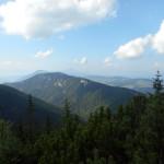 7. ...na Góry Choczańskie z Wielkim Choczem na horyzoncie.
