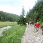 Towarzyszył nam Vrablovsky potok.