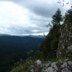 Havrania Skała ma strome stoki.
