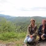 Gdyby nie chmury… Widok z Tatrami Wysokimi byłby ciekawszy.