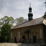 4. Przed kaplicą Ukrzyżowania na szczycie Golgoty.