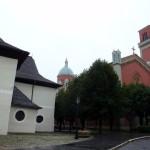 3. Tuż przy starym stoi nowy kościół ewangelicki Theofila von Hansena…