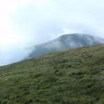 Odsłonił się ostatni z wysokich szczytów głównej grani - Budislavu (2343).