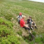 27. Przy źródełku uzupełniliśmy zapasy wody.
