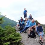 28. Z Gęsiej Szyi, najwyższego szczytu reglowej części Tatr Wysokich…
