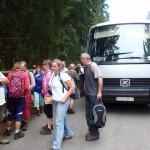 6. Na drodze Oswalda Balzera szykowaliśmy się do wyjścia na trasę.