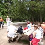 9. Korzystaliśmy z miejsc biwakowych przygotowanych specjalnie dla turystów.