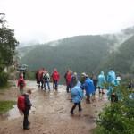 15. Tomašovsky Vyhlad to skalna półka zawieszona ponad 200m nad Hornadem.
