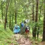 17. …przekroczyliśmy Hornad po metalowym mostku.