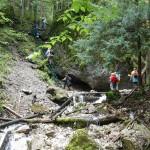 25. Pierwsza drabina w dolinie pozwalała ominąć Wodospad Skalny…
