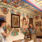 3. …i podziwialiśmy wspaniałe dekoracje jej autorstwa.
