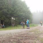 46. Na płaskowyżu Glac mgła otuliła nas szczelnie.