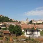 1. Najstarsza część Sighişoary zajmuje wzgórze górujące nad okolicą.