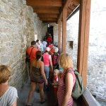23. …galerie strzelnicze wzdłuż zamkowych murów…