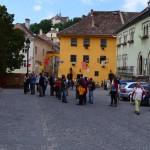 3. Z placu między Klosterkirche a Domem Weneckim (na prawo) i Domem Drakuli (na wprost)…