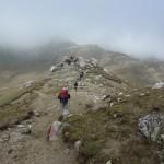 49. …podeszły głębokimi dolinami i wyprzedziły nas na trasie do schroniska Omul.