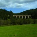 6. Po drodze w Niskie Tatry widzieliśmy ten zabytkowy wiadukt z czasów austriackich.