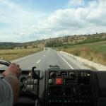 81. Przejeżdżając przez Transylwanię kontemplowaliśmy krajobraz…