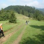9. Na zejściu przed oczami mieliśmy przełęcz Cerlę…