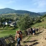 1. Z Łozianskiego podchodziliśmy na boczny grzbiet nad wsią…