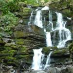 """30. Na trasę drugiego dnia ruszyliśmy z Filipca, spod urokliwego wodospadu """"Szypot""""…"""