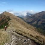 36. Z przełęczy w Stenach mieliśmy już widok i na doliny i na imponującego Stoha…
