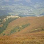 44. …na Gimbę ze stokami już jesiennie przebarwionymi.