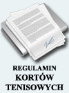 Regulamin kortów tenisowych Strzyżów