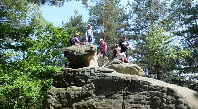 33. ...na skałki grupy Borsuka, które nas zachęcały do odpoczynku.