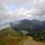 34. Nasi alpiniści patrząc wstecz też widzieli nasz szczyt…
