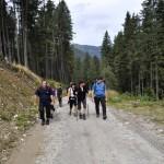 4. Nasza wysokogórska grupa podchodziła Szeroką Doliną...