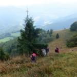 12. …przebytą drogę od skąpanej w słońcu doliny Zazrivki.