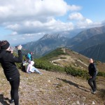 19. Przyszła pora na pamiątkowe fotki z widokiem na Dolinę Chochołowską…