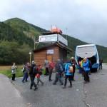 2. Z widokiem na Lučivną (779) ruszamy na trasę.