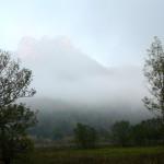 24. Rozrzedzająca się mgła tworzyła baśniowy krajobraz.