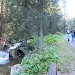 3. …i wzdłuż potoku z licznymi kaskadami.