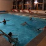 31. Pobyt w hotelowym basenie dał upragniony relaks.