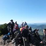 58. Ze szczytu widzieliśmy panoramę Gór Kysuckich…