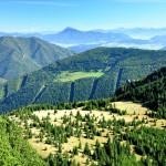 59. …a nad przełęczą skąd przyszliśmy Wielkiego Chocza i Niskie Tatry.