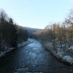 2. Przekroczyliśmy mostek na potoku Wołosaty…