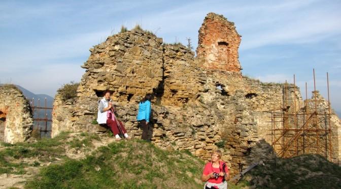 18. ...do ruin zamku górnego...