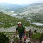 Z podejścia mieliśmy widok na jeziora Lia, Ana, Viorica, Florica i Agatar.