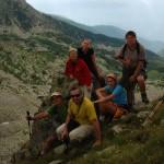 Z przełęczy Poarta Bucurei (2280) rozciągał się widok na dolinę Ştirbu.