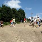 Zwiedzanie Kazimierza zaczęliśmy na Górze Trzech Krzyży.